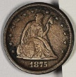 Liberty Seated 1875 s