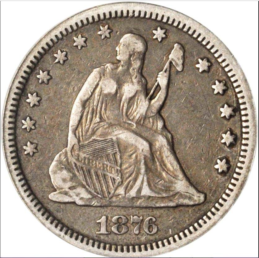 Seated 1876 cc