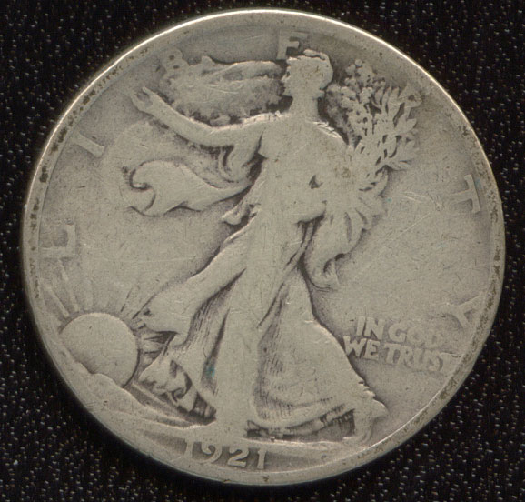 Walking Liberty 1921