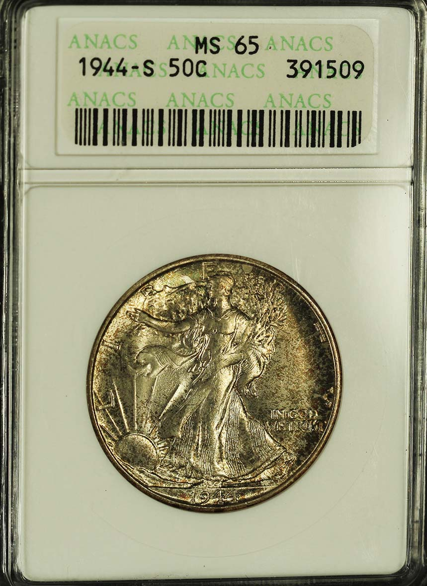 Walking Liberty 1944 s