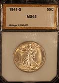 Walking Liberty 1941 s