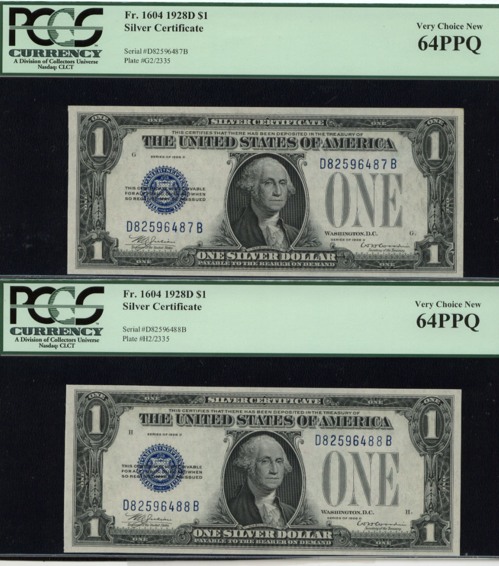 Silver certificates currency for sale on collectors corner 64 ppq xflitez Gallery
