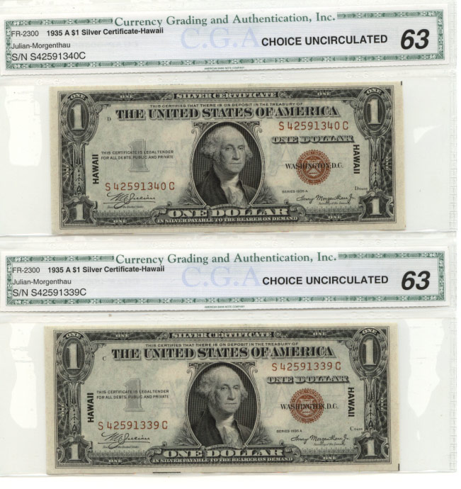 World War Ii Emergency Notes Currency For Sale On Collectors Corner