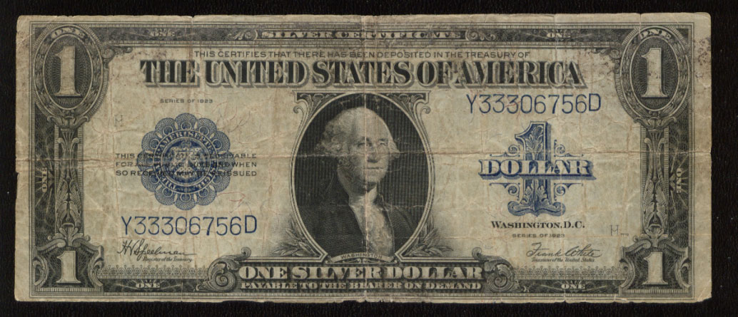 Rare Coins Currency US Coin Dealer Buying Selling: Large Size 1923